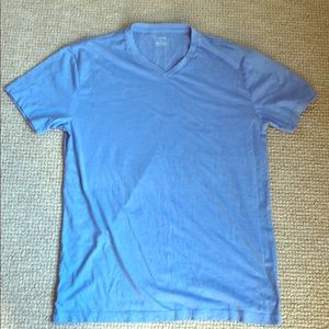 Other - J.Crew light blue v neck cotton tee shirt size M